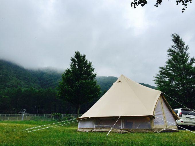 キャンプサイト なかなか来ない