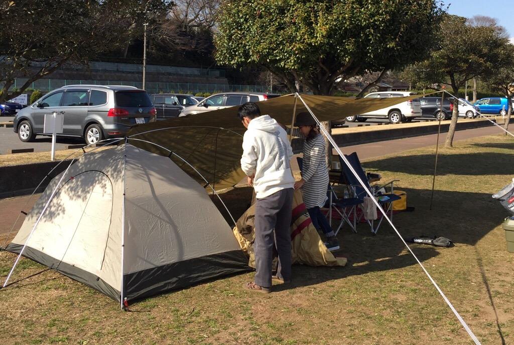 ソロ用テント