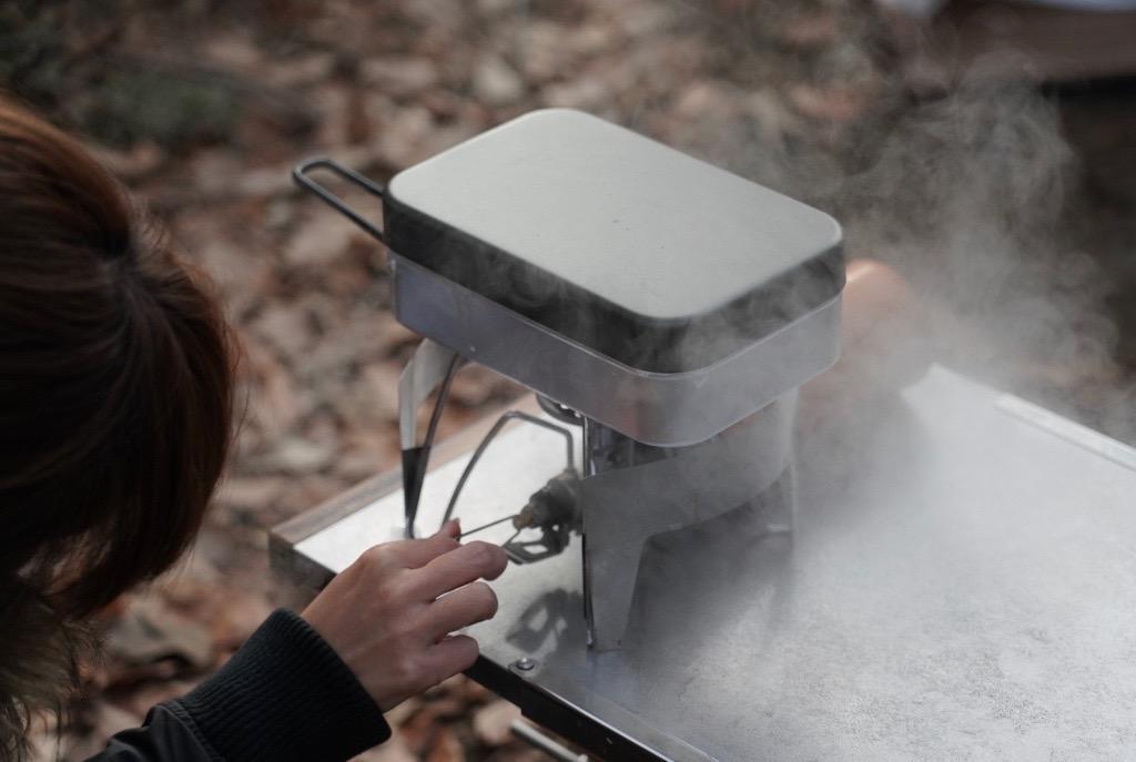 メスティン炊飯